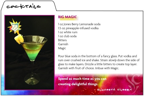 Big Magic recipe